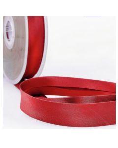 Satin Bias Binding - Red