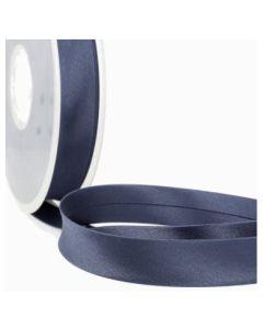 Satin Bias Binding - Navy Blue