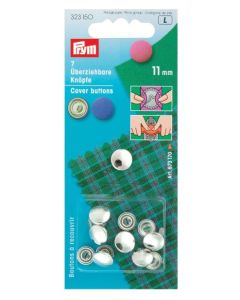 Prym Cover Buttons 11mm Metal