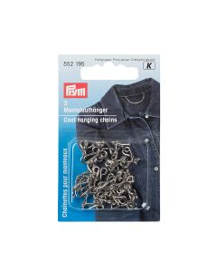 Prym Coat Hanging Chain - Silver