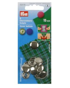 Prym Cover Buttons 15mm Metal