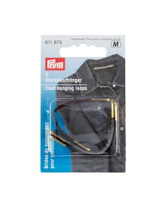 Prym Coat Loop - Faux Leather, Assorted Colours