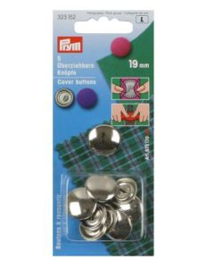 Prym Cover Buttons 19mm Metal