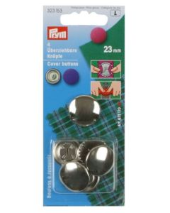 Prym Cover Buttons 23mm Metal