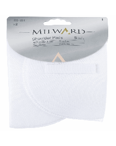 Milward Shoulder Pads - Small, White