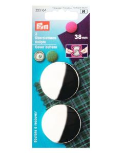 Prym Cover Buttons 38mm Metal