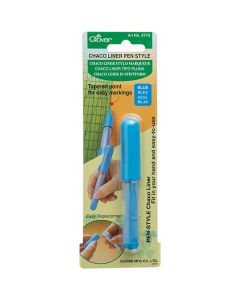 Clover Chaco Liner Chalk Pen - Blue