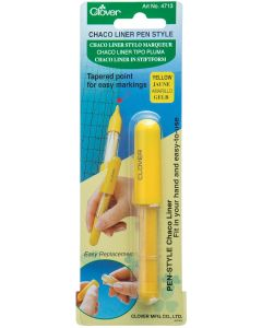 Clover Chaco Liner Chalk Pen - Yellow