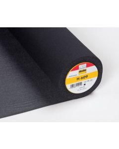 Light Weight Stretch Fusible Interfacing - Black