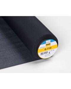 Light Weight Woven Fusible Interfacing - Black