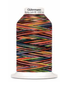 Bulky-Lock 80: 1,000m: Multicolour Thread - 9842