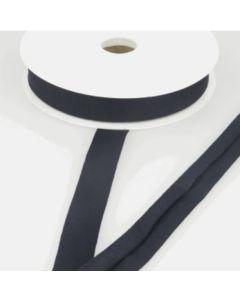 Stretch Jersey Bias Binding - Blue Black