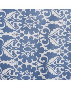 Cotton - Blue Wallpaper Print Fenton House