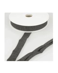 Stretch Jersey Bias Binding - Dark Grey