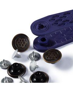 Prym Jeans Buttons - Flower 17mm, Single