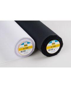 Medium Weight Woven Fusible Interfacing - Black