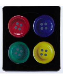 Pattern Weights  Button Design Set - 4 x 50mm