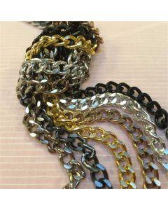 Couture Chain - Gun Metal