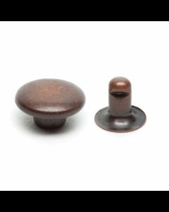 Hemline 7mm Rivet Kit - Bronze 20 sets