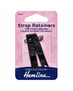Shoulder Strap Retainers Black