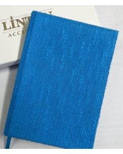 Linton Tweed Notebook Blue