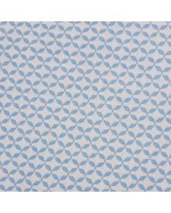 Cotton - Blue & White French Cottage Print