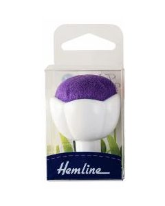 Pin Cushion with Suction Cup - Purple