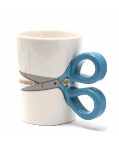 Sew Thirsty Mug - Blue