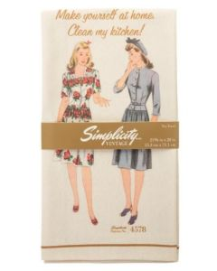 Simplicity Vintage Tea Towel 4578