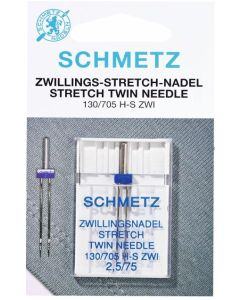 Schmetz Stretch Twin Machine Needle 2.5mm