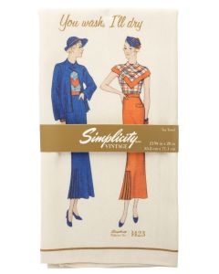 Simplicity Vintage Tea Towel 1423