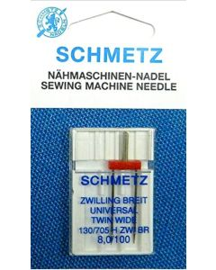 Schmetz Universal Twin Machine Needles 8mm