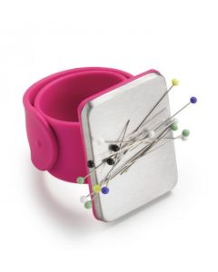 Prym Magnetic Wrist Pin Cushion PInk