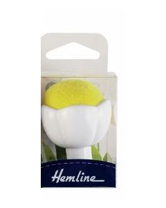 Pin Cushion with Suction Cup - Yellow